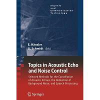【预订】Topics in Acoustic Echo and Noise Control: Selected