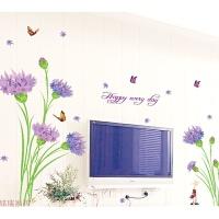 创意墙贴客厅玻璃贴纸贴膜推拉移门阳台窗贴玄关装饰贴画田园贴花 特大