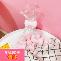 韩国ins日系少女心可爱创意粉色蝴蝶结零食夹收纳夹小夹子封口夹
