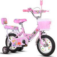 儿童自行车2-10岁女孩公主款童车小孩男宝宝脚踏单车12寸14寸16寸18寸小猪佩奇