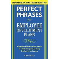 【预订】Perfect Phrases for Employee Development Plans: