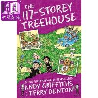 【中商原版】小屁孩树屋历险记 117层树屋故事 The 117-Storey Treehouse 疯狂树屋历险记