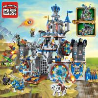 兼容乐高积木未来骑士团系列拼装玩具男孩子战车幻影忍者城堡