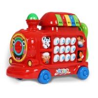 【领券立减】儿童玩具电话机婴幼儿早教小火车宝宝音乐手机小孩0-1-3岁