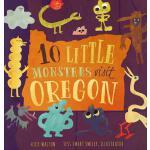 【预订】10 Little Monsters Visit Oregon