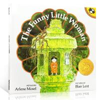 凯迪克金奖 名家绘本 英文原版儿童书The Funny Little Woman
