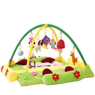 婴儿用品超大音乐宝宝游戏垫毯爬行垫健身架玩具0-3-6-12个月 发货周期:一般在付款后2-90天左右发货,具体发货时间请以与客服协商的时间为准