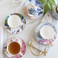 欧式陶瓷英式下午茶具骨瓷咖啡杯碟套装红茶杯子田园复古