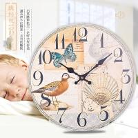 现代挂钟客厅家用卧室墙壁时钟 欧式创意复古简约石英钟挂表
