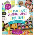 【预订】100 Fun & Easy Learning Games for Kids: Teach Reading,