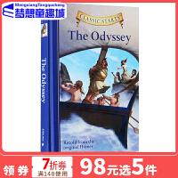 英文原版 Classic Starts The Odyssey 荷马史诗 奥德赛 专门为孩子编的名著读本 精装 小说