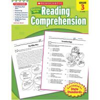 英文原版Scholastic Success With Reading Comprehension, Grade 3学