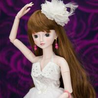 叶罗丽娃娃娃娃玩具女孩洋娃娃冰公主罗丽仙子仿真娃娃套装礼盒60厘米 60CM(眼睛颜色随机发货)