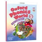 新版 oxford phonics world 5 Letter Combinations 牛津自然拼读法 正版保证