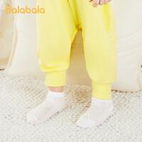 巴拉巴拉儿童袜子男童女童网眼袜夏季薄款萌趣柔软舒适洋气四双装