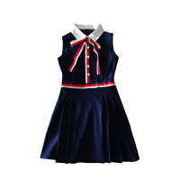 情侣装夏装2018新款韩版学院风短袖连衣裙女学生百搭POLO领T恤衫