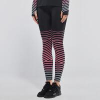 运动紧身裤女弹力显瘦健身裤速干跑步裤透气训练打底瑜伽长裤