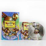 英文原版 Wee Sing For Baby幼儿英文歌曲童谣摇篮曲催眠曲英文原版书+cd