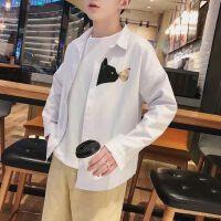 2018春季新款长袖白衬衫男士韩版潮流修身青少年学生百搭休闲寸衫