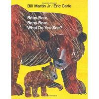 Baby Bear, Baby Bear, What Do You See 英文原版儿童书 小熊,小熊,你看到了什么?
