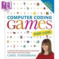 【中商原版】DK学游戏编码 Computer Coding Games for Kids 儿童编程 游戏编程程序 游戏设