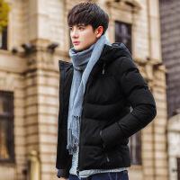 冬季棉衣男士外套2018新款短款羽绒冬装潮流韩版帅气青年棉袄