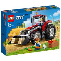 LEGO乐高积木 城市组City系列 60287 拖拉机