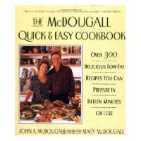 【预订】The McDougall Quick & Easy Cookbook: Over 300