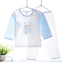 男童女童夏装儿童内衣套装宝宝睡衣空调服薄款夏季全棉家居服