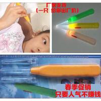 安全发光耳勺(大、小耳勺,镊子)/防滑手柄耳勺/洁耳器/掏耳器/挖耳勺