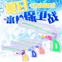 哈比比玩具 4330夏季儿童戏水玩具 透明小水枪喷射洗澡戏水玩具多色可选