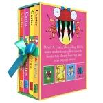 【发顺丰】英文原版 A Box of Bugs: 4 Pop-up Concept Books 昆虫颜色立体书4册盒装