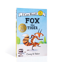 【全店300减110】英文原版进口狐狸老虎 My first ICR Fox the Tiger 分级阅读 6-9岁 平