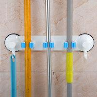 20180901011943184卫生间吸盘置物架厕所壁挂浴室用品用具吸壁式收纳架免打孔拖把架 拖把架