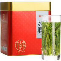 �福堂 茶�~�G茶 2019新茶春茶太平猴魁 �S山核心�^特�猴魁150g