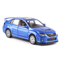 玩具车越野车合金车模型轿车汽车模型1:36斯巴鲁翼豹WRX跑车