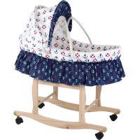 婴儿摇篮床新生儿摇篮摇床婴儿篮便携手提篮子睡篮宝宝草编婴儿床D8