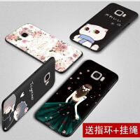 【买2送1】三星c5手机壳 sm-c5000手机套硅胶防摔卡通软壳c5保护套外壳女潮