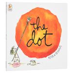 【中商原版】点 英文原版 The Dot 畅销绘本 获奖图画书 彼德雷诺兹 创意想象力 3-6岁