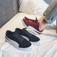新款街拍帆布鞋男鞋夏季潮鞋韩版潮流鞋子百搭休闲学生布鞋黑