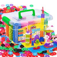 雪花片幼儿园儿童积木塑料1-2岁拼装3-6周岁男孩女孩宝宝玩具