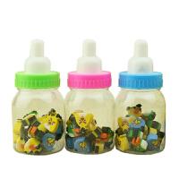 小朋友生日礼物活动小礼品批�l奶瓶橡皮创意文具(1瓶装)