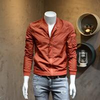 男装薄款夹克外套修身型夏日透气青年防晒服