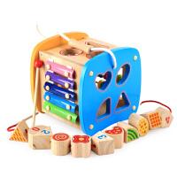 宝宝玩具 0-1-2-3周岁婴幼儿早教力积木儿童启蒙玩具男女孩
