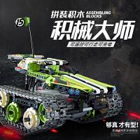 �⑤x玩具�b控���悠囱b益智兼容�犯叻e木�男孩子��模型�C器人