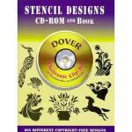 【预订】Stencil Designs CD-ROM and Book [With Reference