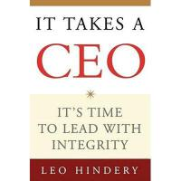 【预订】It Takes a CEO: It's Time to Lead with Integrity