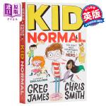 【中商原版】麻瓜小子 英文原版 Kid Normal 少年文学 青少年小说 6-12岁