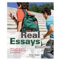 【预订】Real Essays with Readings: Writing Projects for
