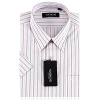 YOUNGOR雅戈尔衬衫新款男专柜正品夏免熨短袖衬衣SXP11281-43